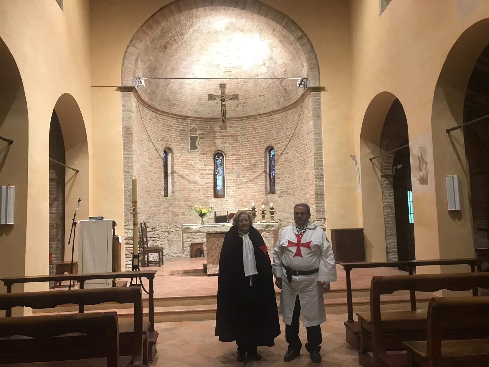 Custodia della Pieve di Santa Maria in acquedotto – Forlì – 12 mag. 2019