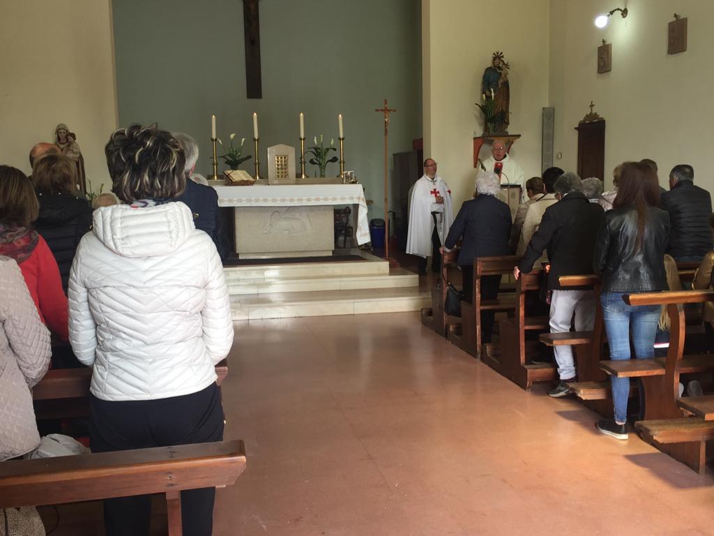 Santa Messa – Chiesa di San Giuseppe Lavoratore – Ontraino (PI)  1 Mag 2019