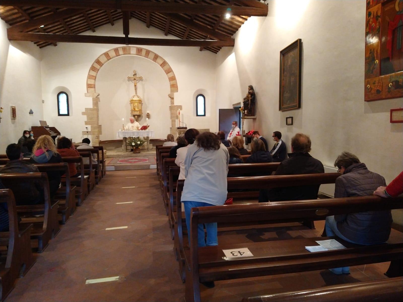 Partecipazione Santa Messa – Pieve della Trasfigurazione – San Salvatore (RN) 10.04.2021