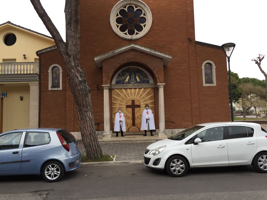Partecipazione Santa Messa – Chiesa dell'Immacolata – Misano Adriatico (RN) – 10.04.2021