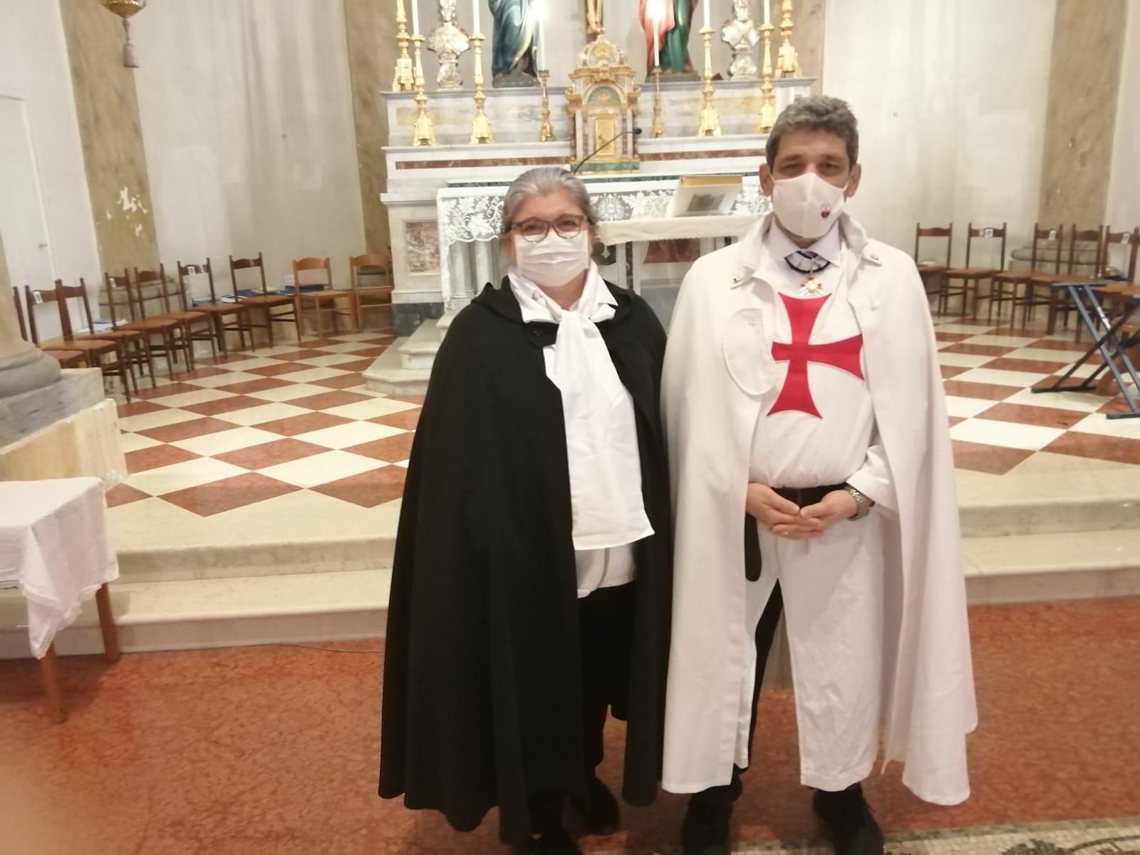 Partecipazione Santa Messa – Chiesa dei Santi Biagio ed Erasmo – Misano Monte (RN) – 11.04.2021