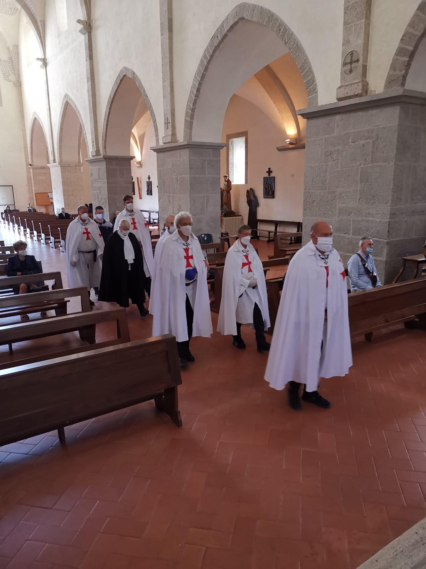 Custodia e Partecipazione alla S. Messa all'Abbazia di Valvisciolo e alla Chiesa Madonna del Fossato -Sermoneta(LT)  14.06.2020