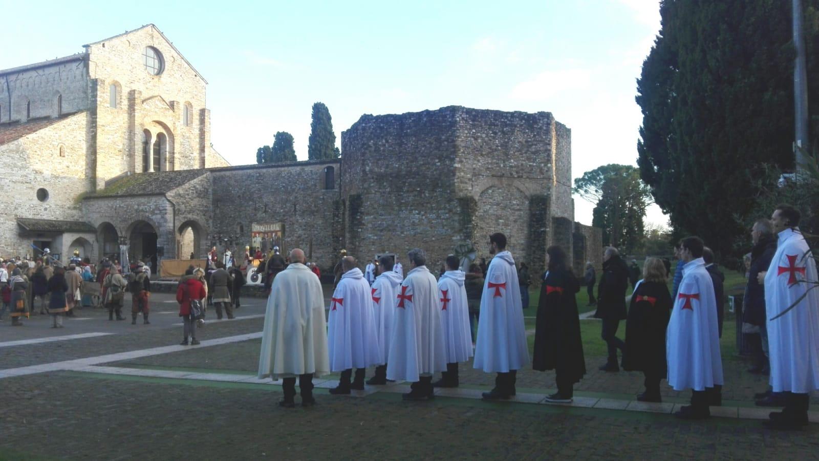 Santa Messa Domenicale e custodia alla Basilica Santa Maria Assunta e Battistero di Aquileia (UD) (2019)