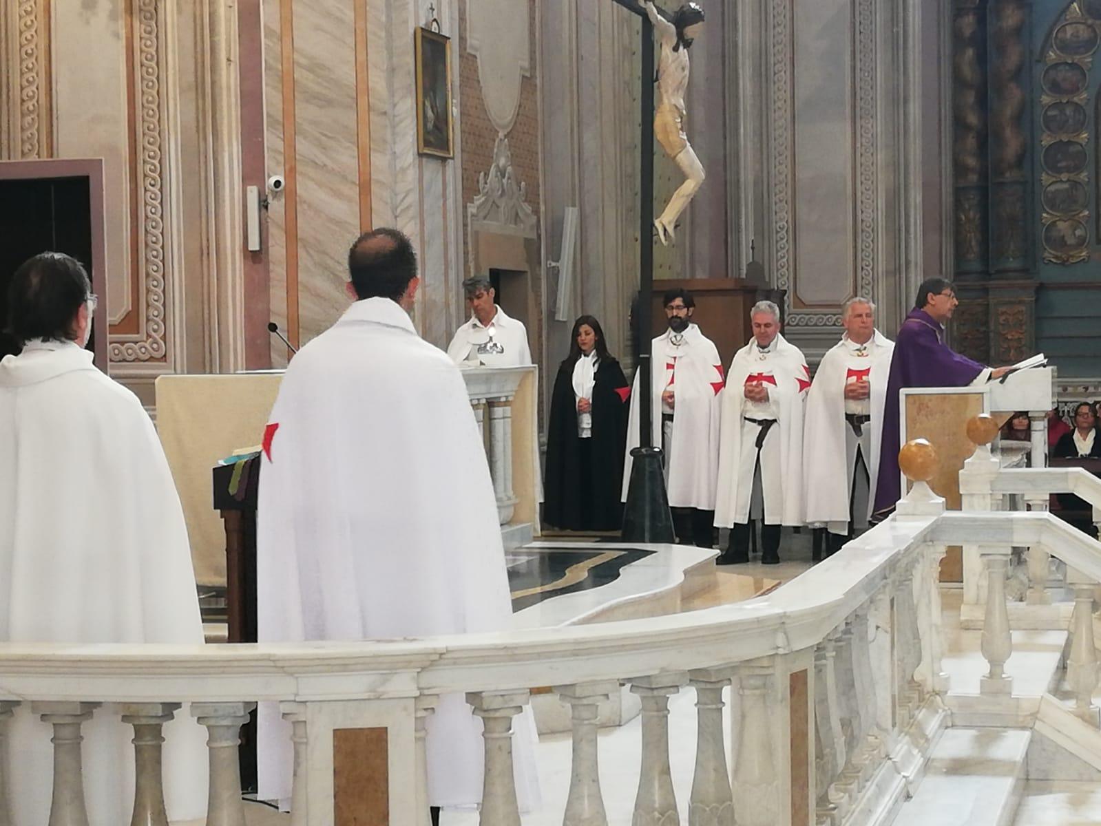 Santa Messa presso la Basilica di Sant' Elena a Quartu Sant'Elena – Cagliari