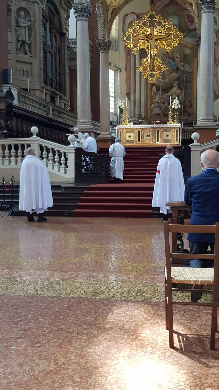 Turno di custodia della Basilica di San Petronio a Bologna – 13-14.06.2020