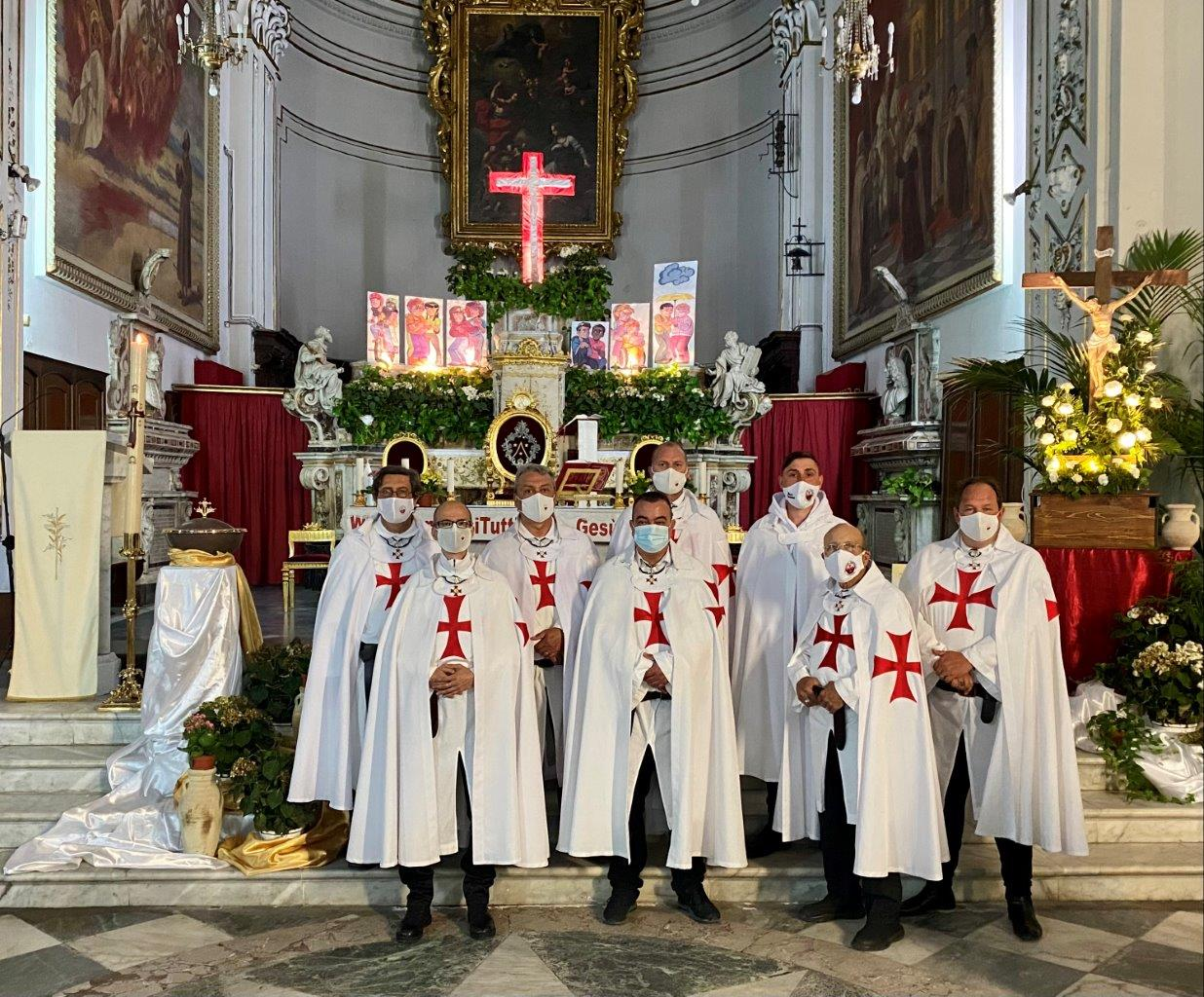 Custodia e Santa Messa -Santuario Basilica Maria SS. Annunziata al Carmine – Catania 16.05.2021
