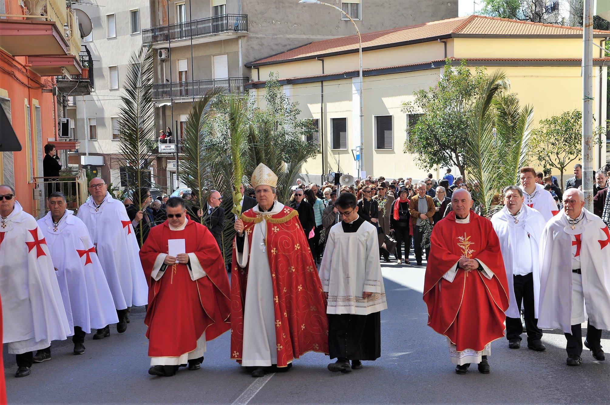 Processione e Santa Messa domenica delle Palme