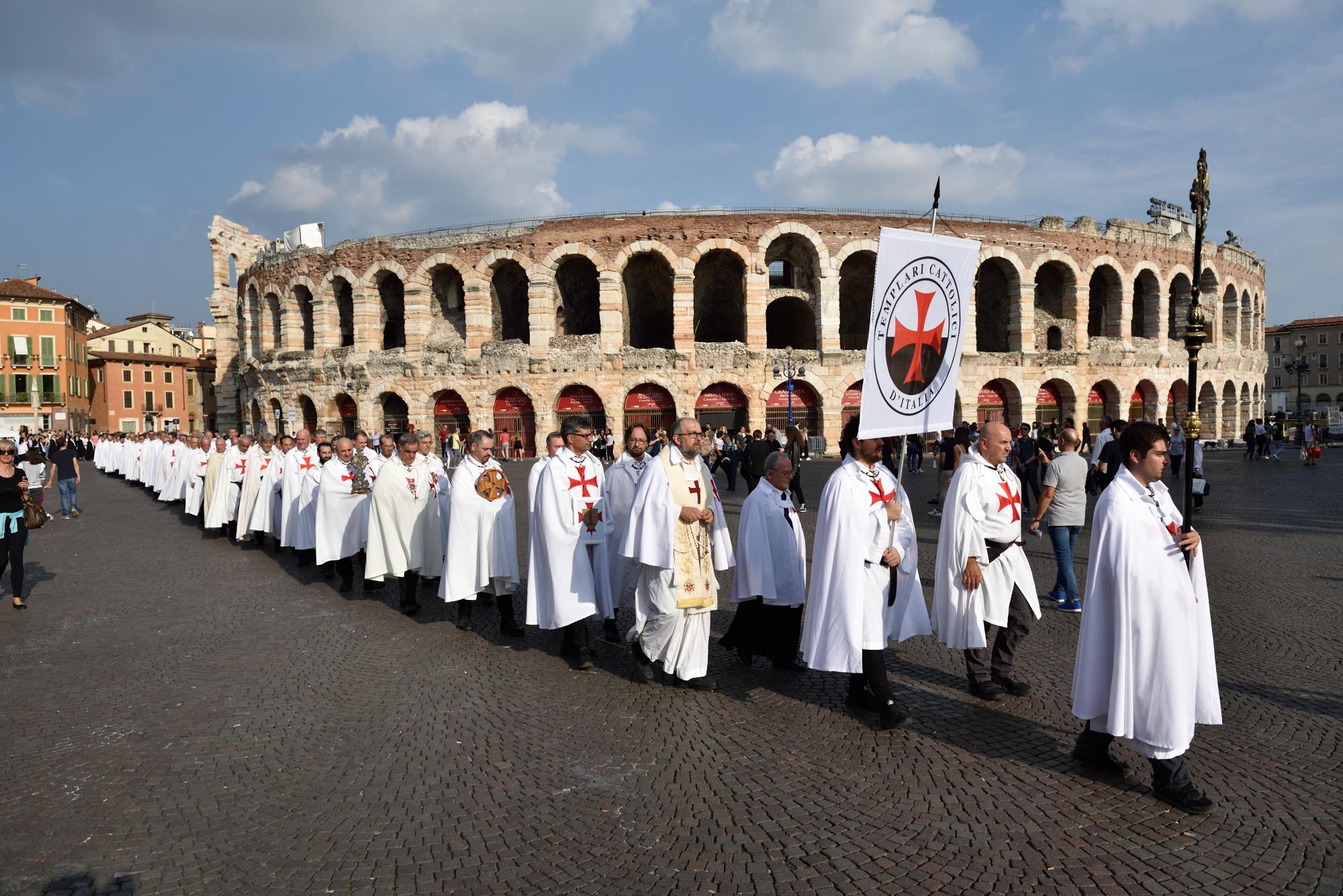 Milczacy marsz wiary w Weronie – 2019