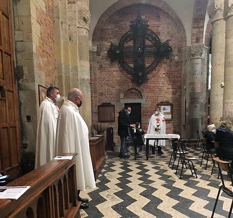 Partecipazione Santa Messa delle Ceneri – Chiesa di San Savino – Piacenza 17.02.2021