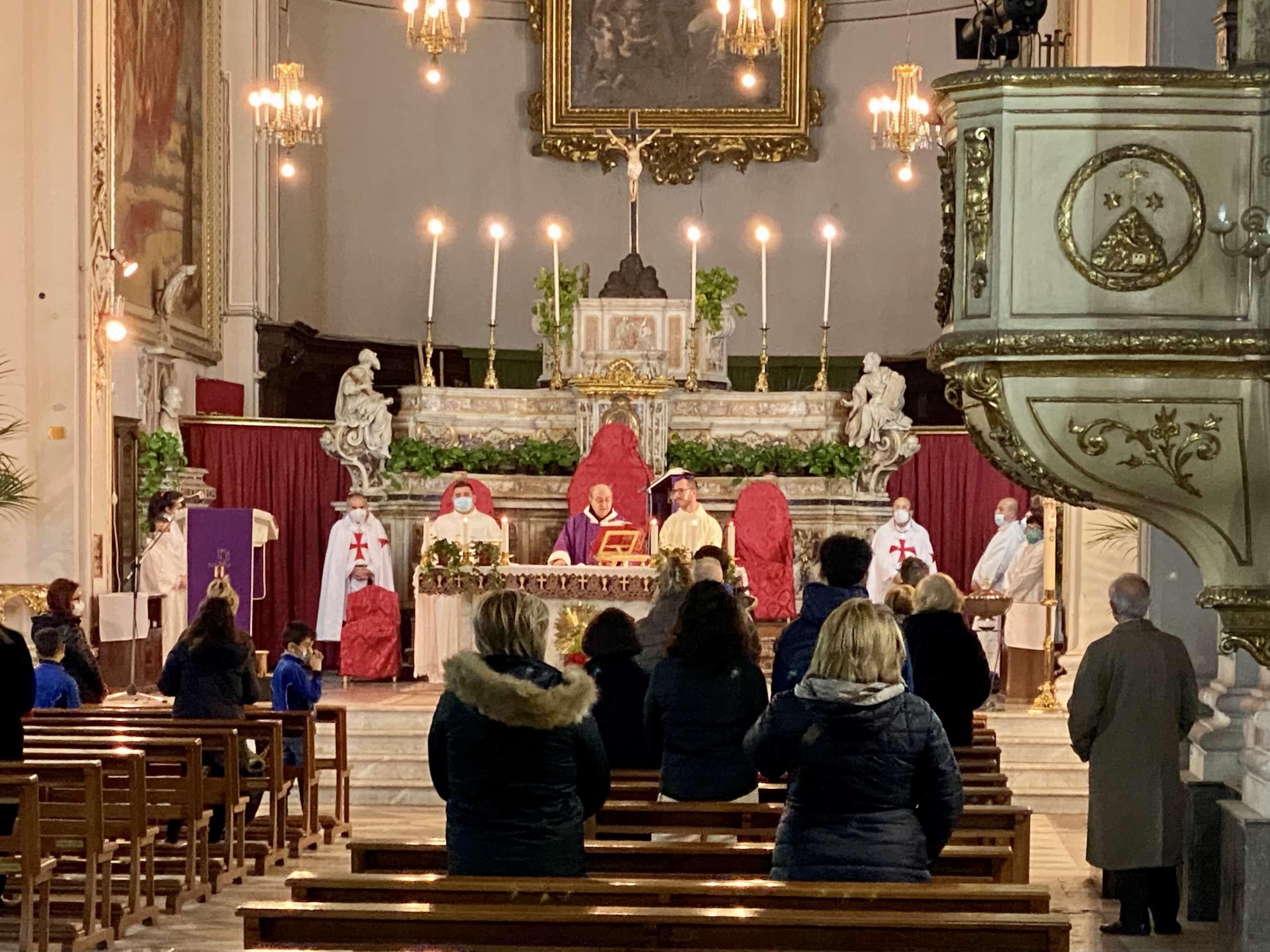 Turno di custodia del Santuario Basilica Maria SS. Annunziata al Carmine – Catania 17.02.2021