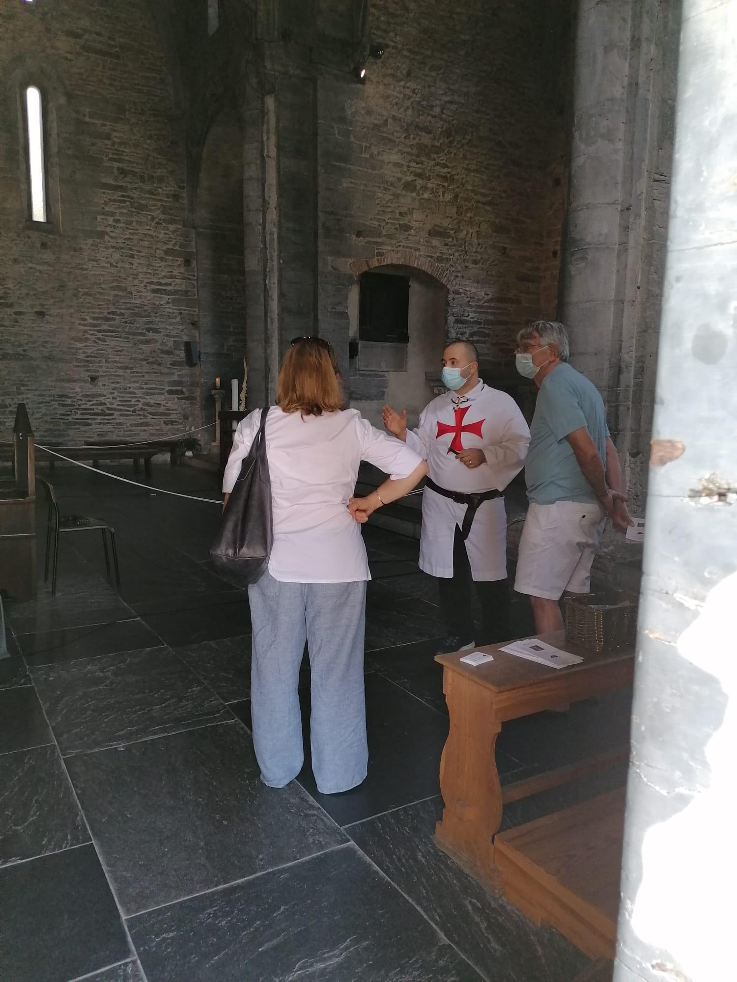 Custodia domenicale della Basilica dei Fieschi a San Salvatore di Cogorno (Ge)(Settembre 2021)