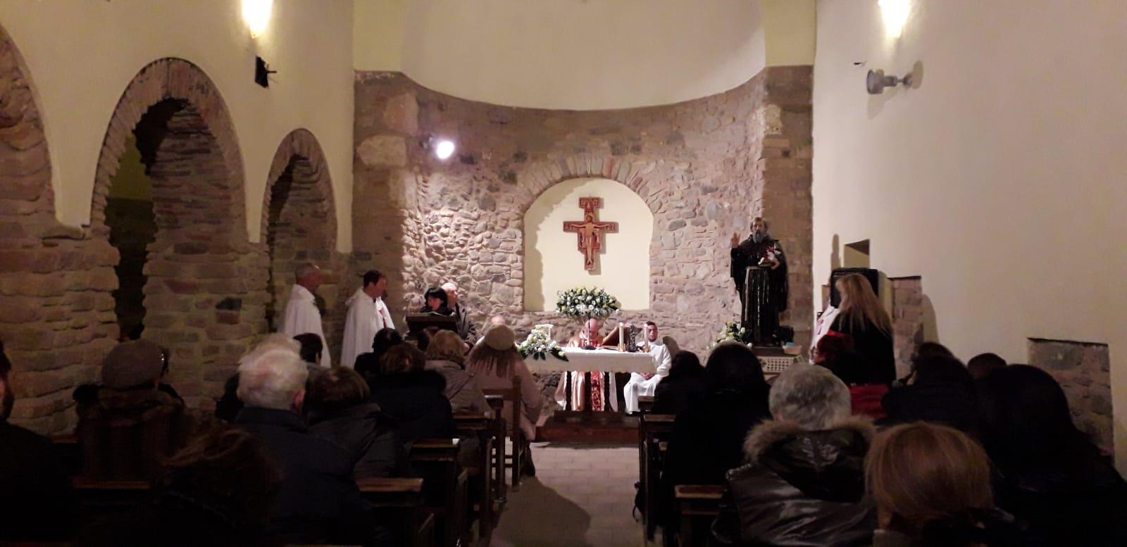 I Templari Cattolici d'Italia partecipano alla Celebrazione Eucaristica in occasione della festività di Sant'Antonio Abate a Reggio Calabria