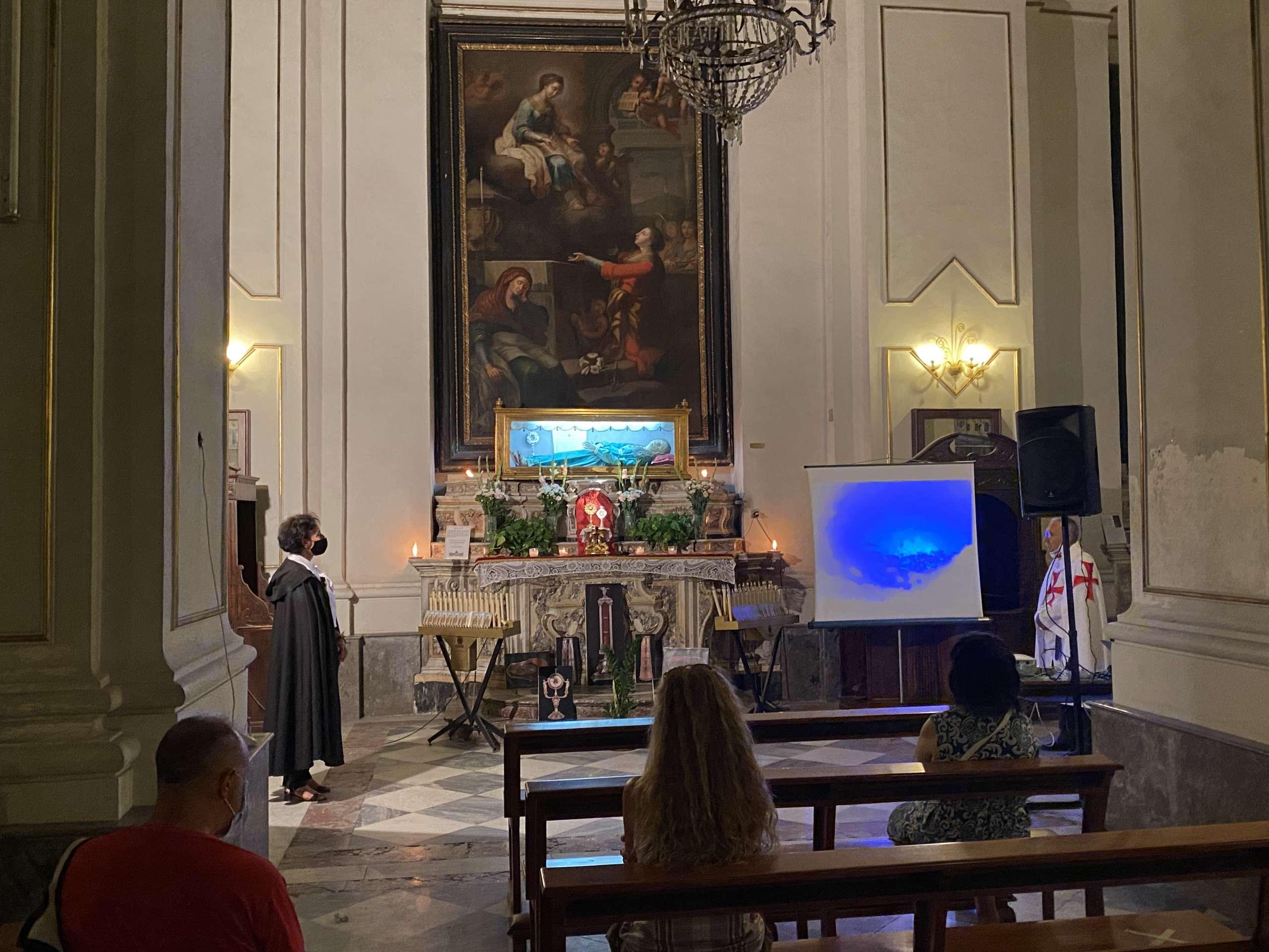 Turno di custodia – Santuario Basilica Maria SS. Annunziata al Carmine – Catania 17.08.2021