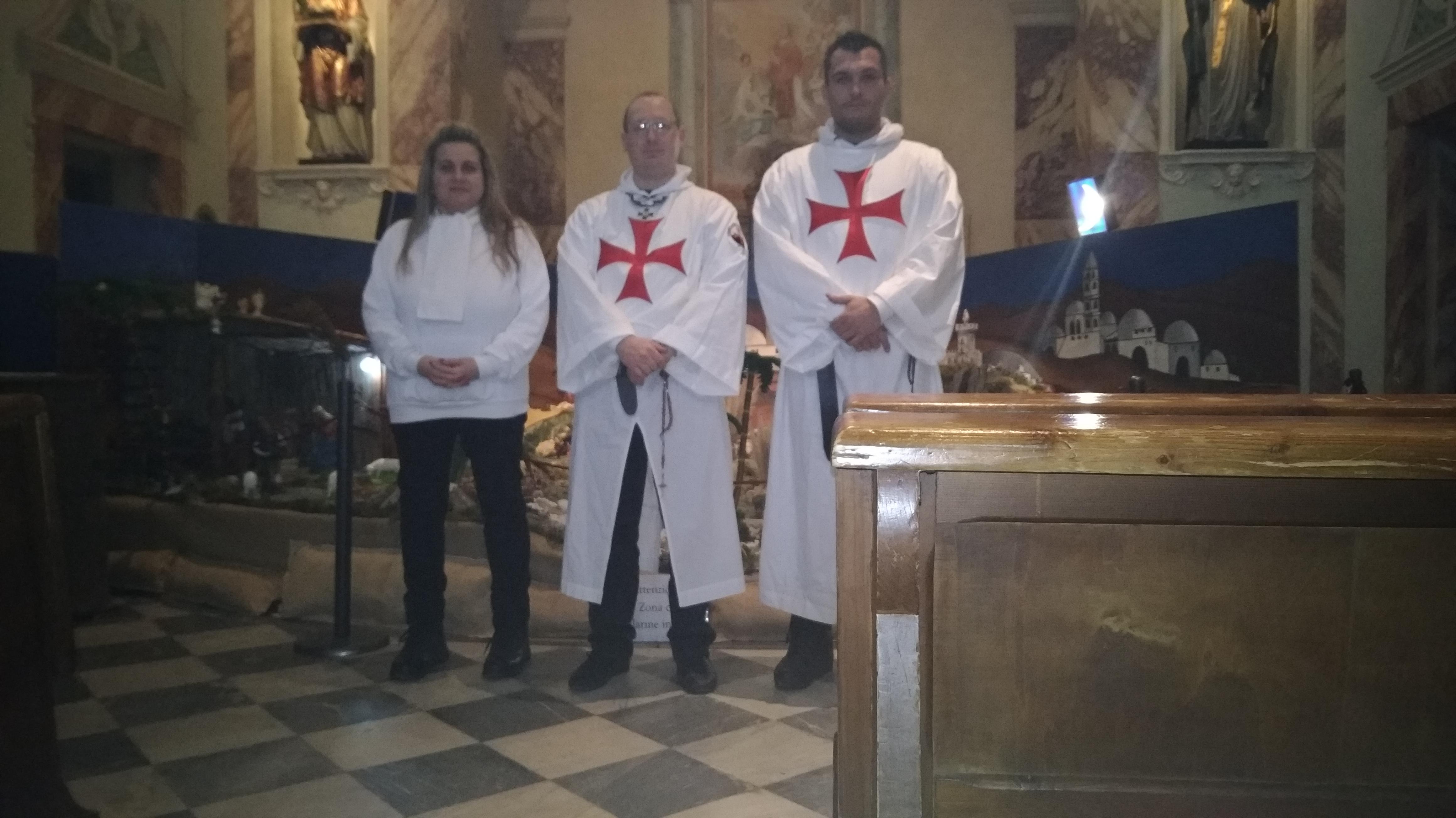Custodia chiesa SS Martino e Stefano Pisa 30 dicembre 2018