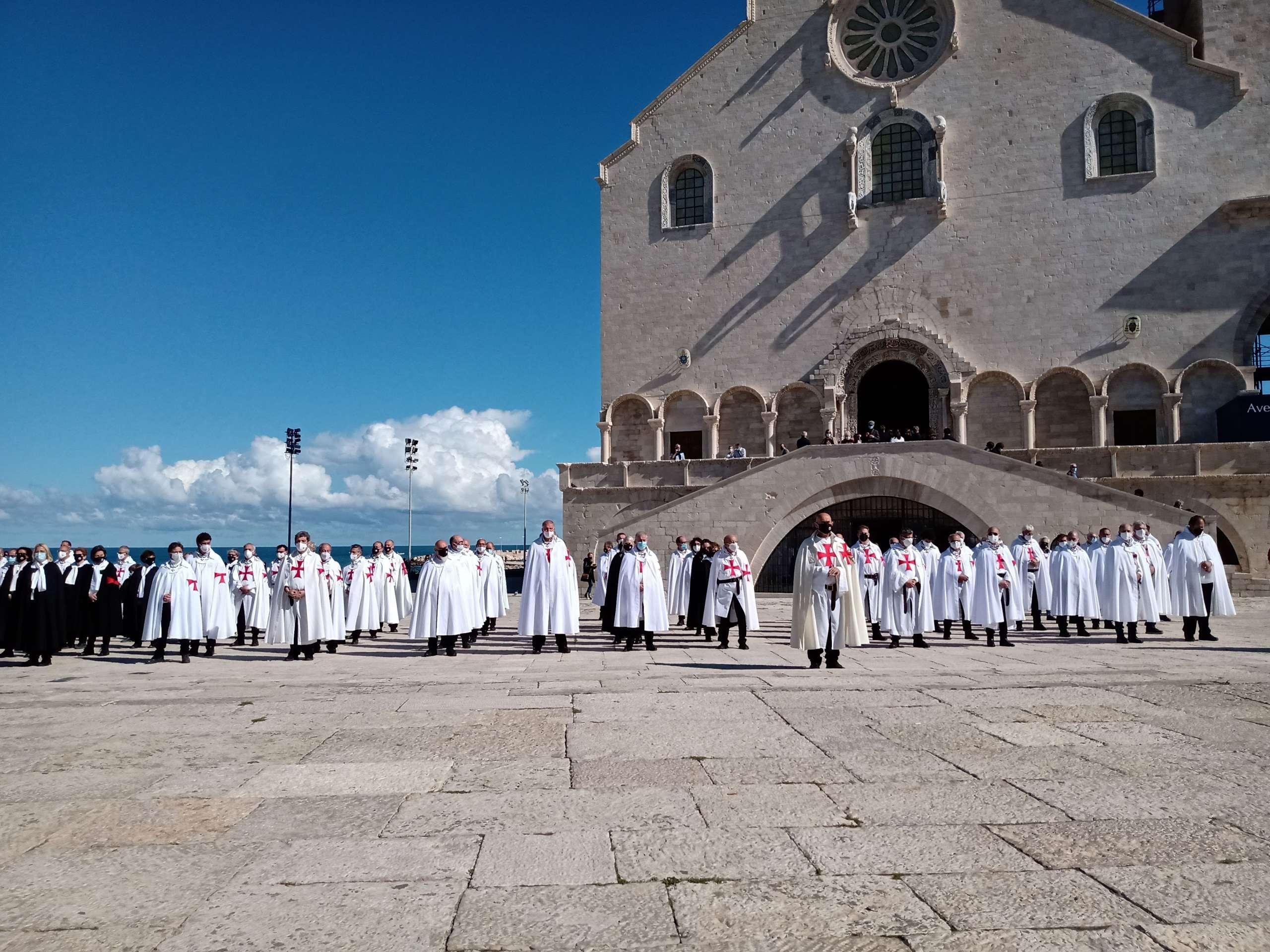 Retraite spirituelle de Trani – Messe à la cathédrale de Trani, à l'église Toussaint et à l'église Saint-Jean (octobre 2020) 2e jour