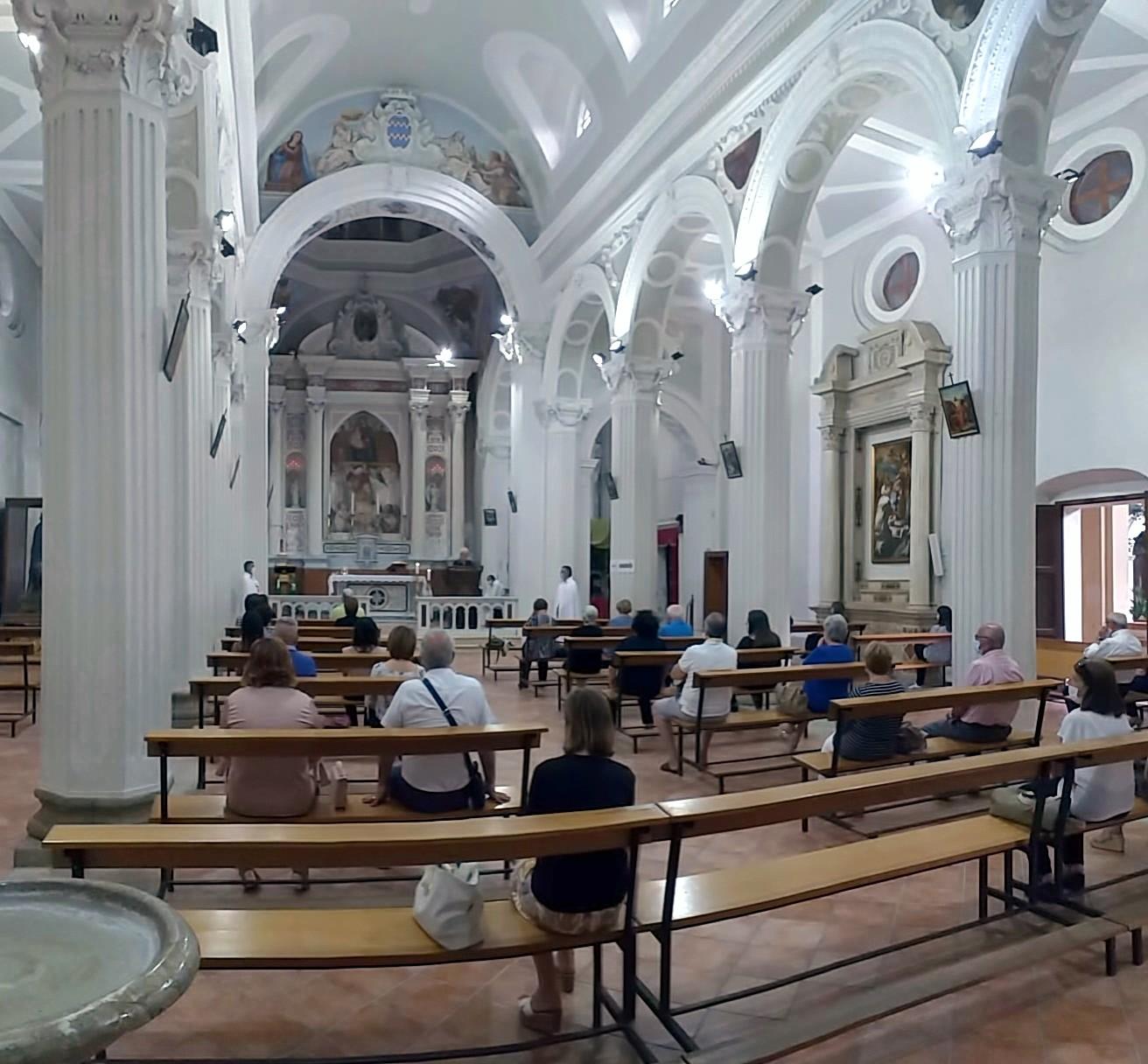 Custodia e controllo del Santuario della Madonna della Catena e Rito di Accoglienza dei fratelli novizi – Cassano allo Ionio(CS)- 19 Luglio 2020