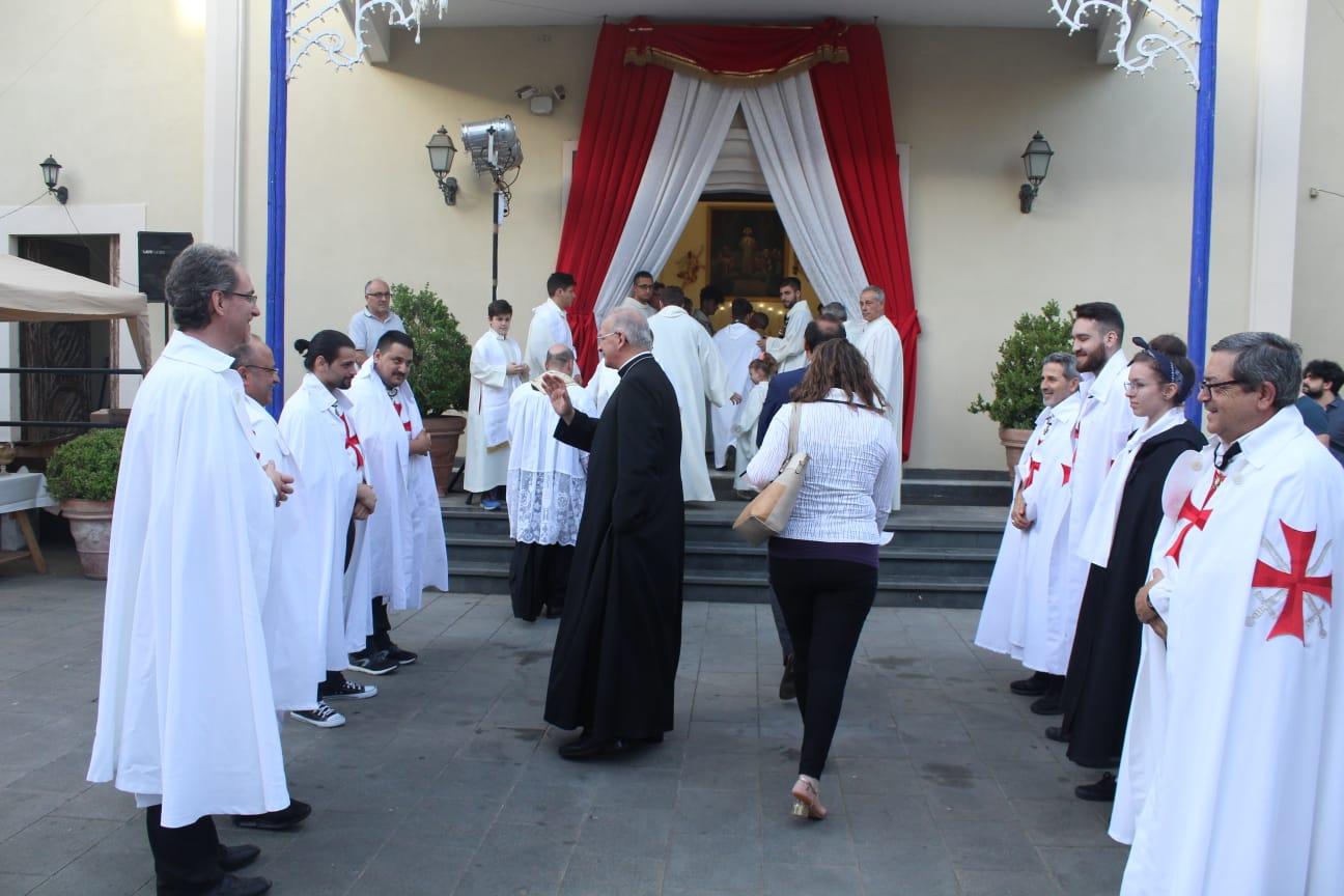 Celebrazione Eucaristica con S.E. Mons. Angelo Spinillo, Vescovo di Aversa
