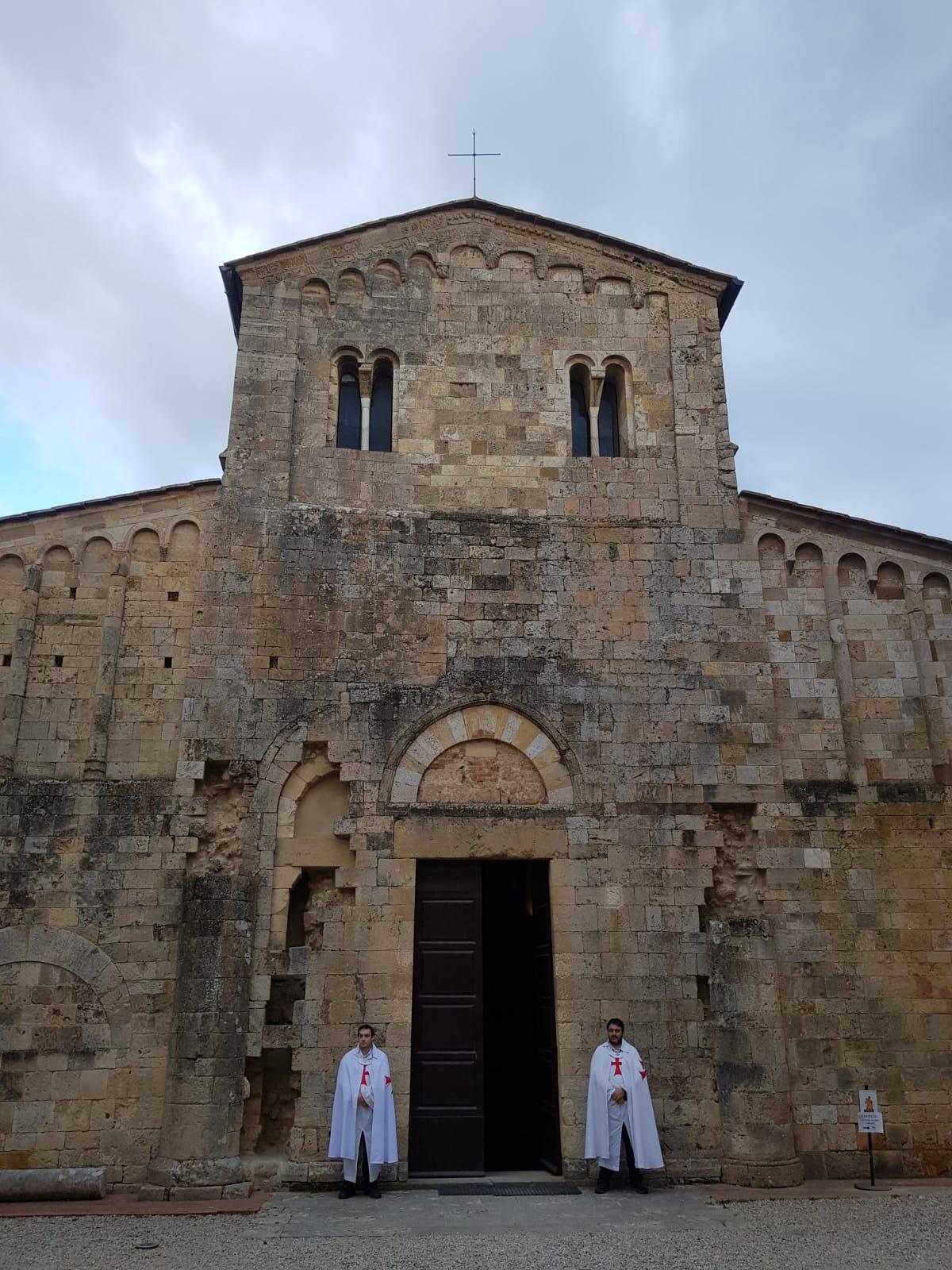 Custodia Abbazia dei Santi Salvatore e Cirino ad Abbadia Isola e della Chiesa di Santa Maria Assunta a Monteriggioni (SI) 19.09.2021