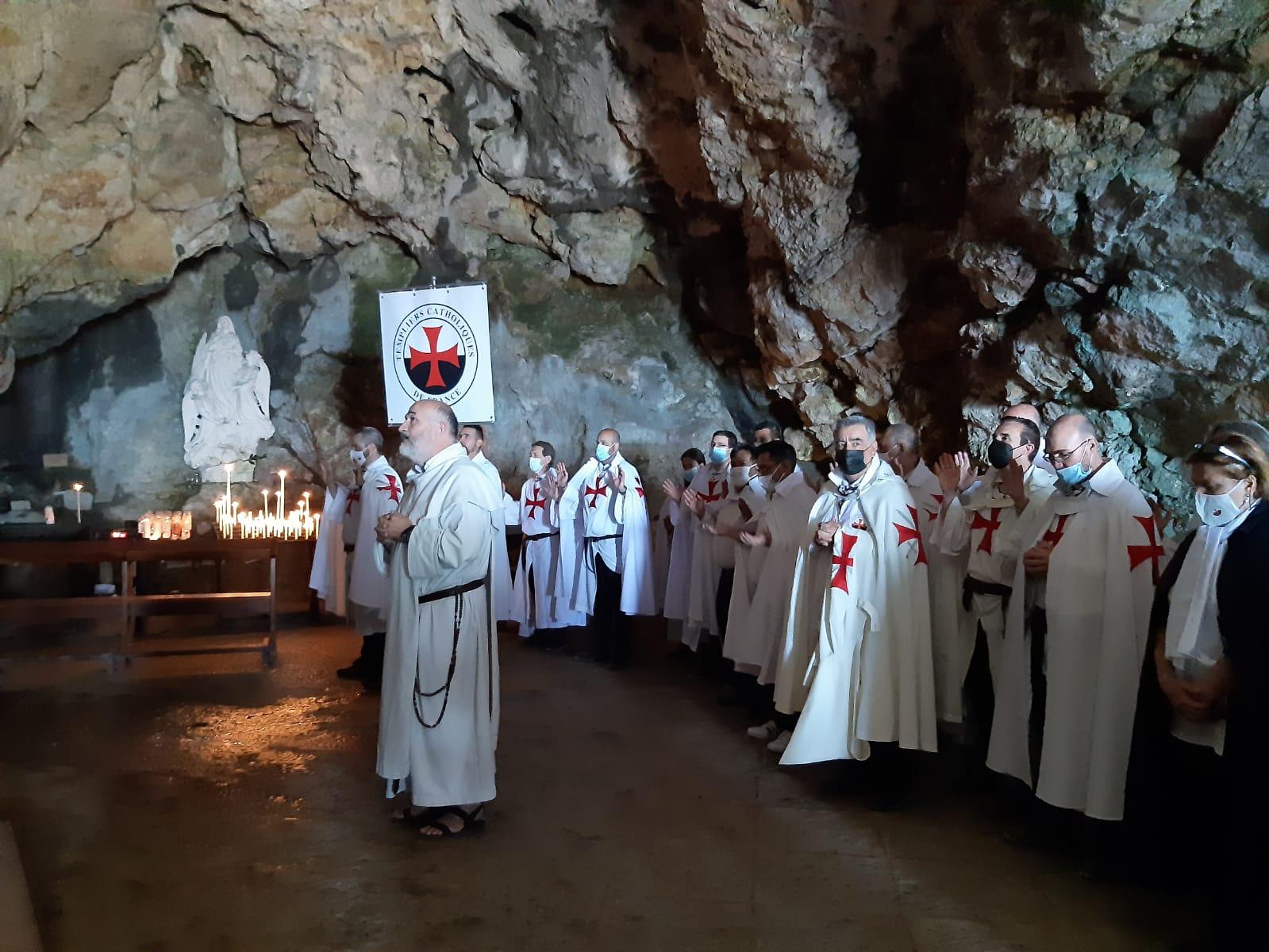 Ritiro spirituale nazionale Cavalieri Templari cattolici di Francia 2021 – 1