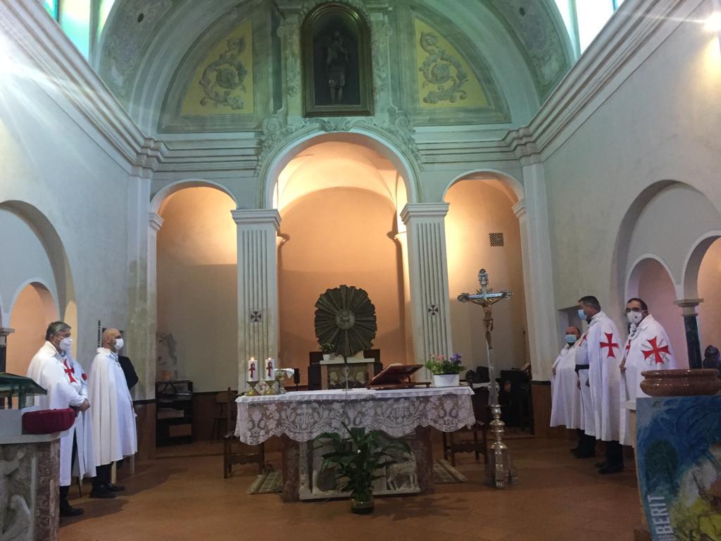 Teilnahme an der Heiligen Messe in Erinnerung an einen unserer Mitglieder – Kirche San Bartolomeo Apostolo – Roncaglia fraz. di Piacenza 21.03.2021