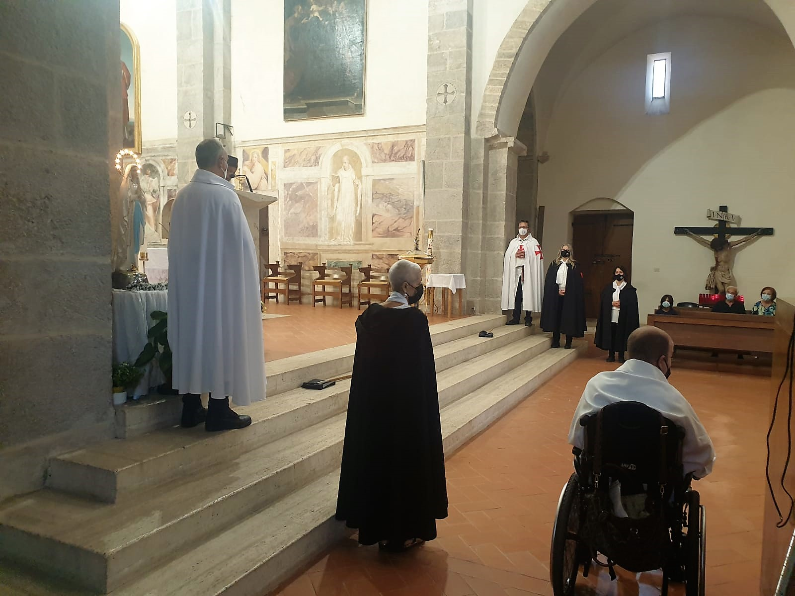 Custodia presso l'Abbazia di Valvisciolo e Chiesa della Madonna del Fossato a Sermoneta (LT) 19.09.2021