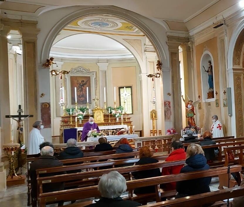 Turno di Custodia Santa messa – Chiesa di San Michele Arcangelo a Aguscello(FE) 21.02.2021