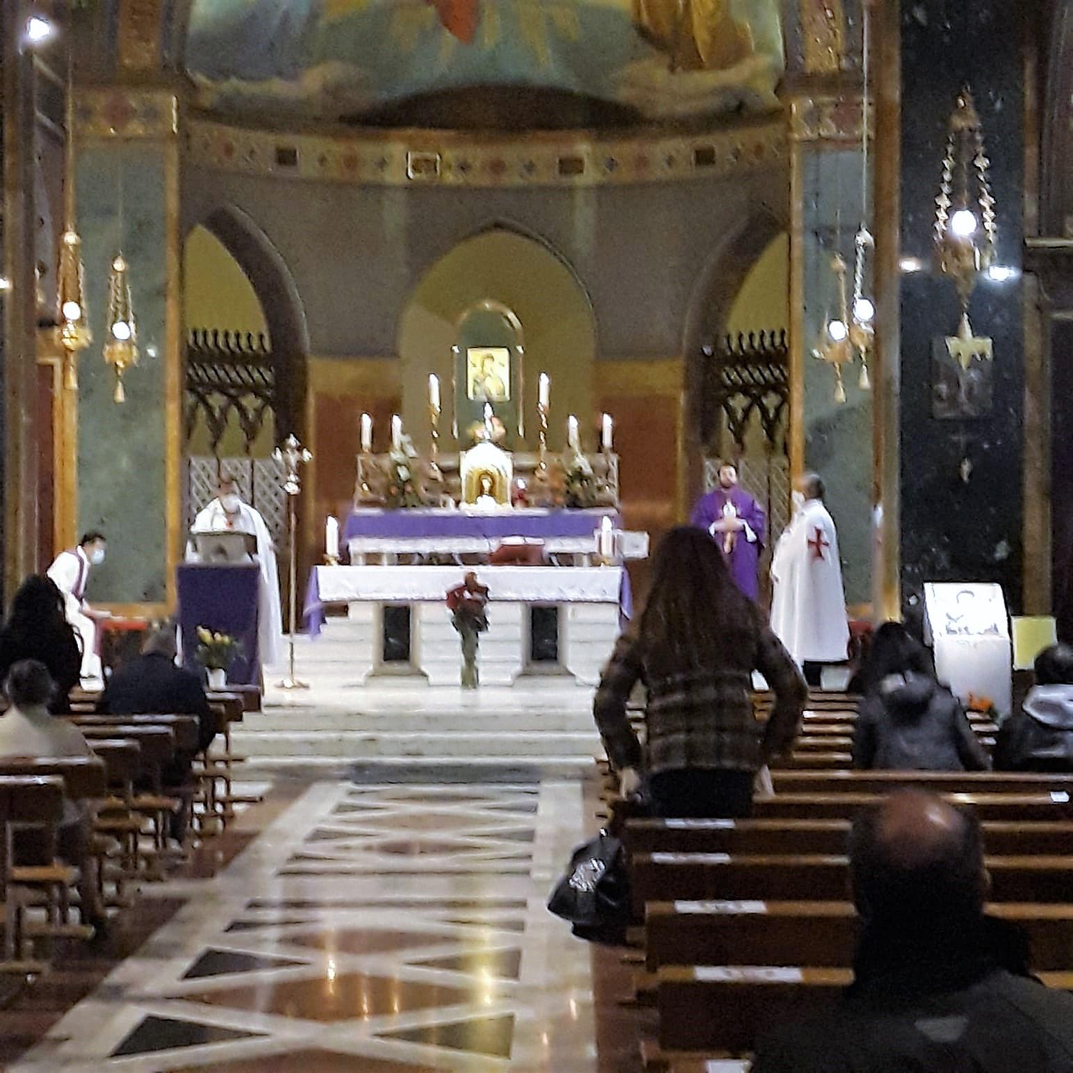 Turno di custodia Chiesa S. Alfonsoall'Esquilino, Santuario Madonna del Perpetuo Soccorso,  Roma 21.02.2021