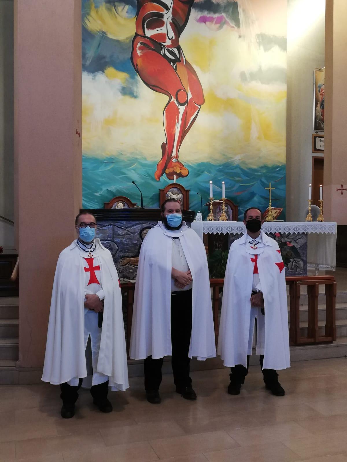 Santa Messa nella Chiesa di San Pio X a Cagliari (Ca)(Settembre 2021)