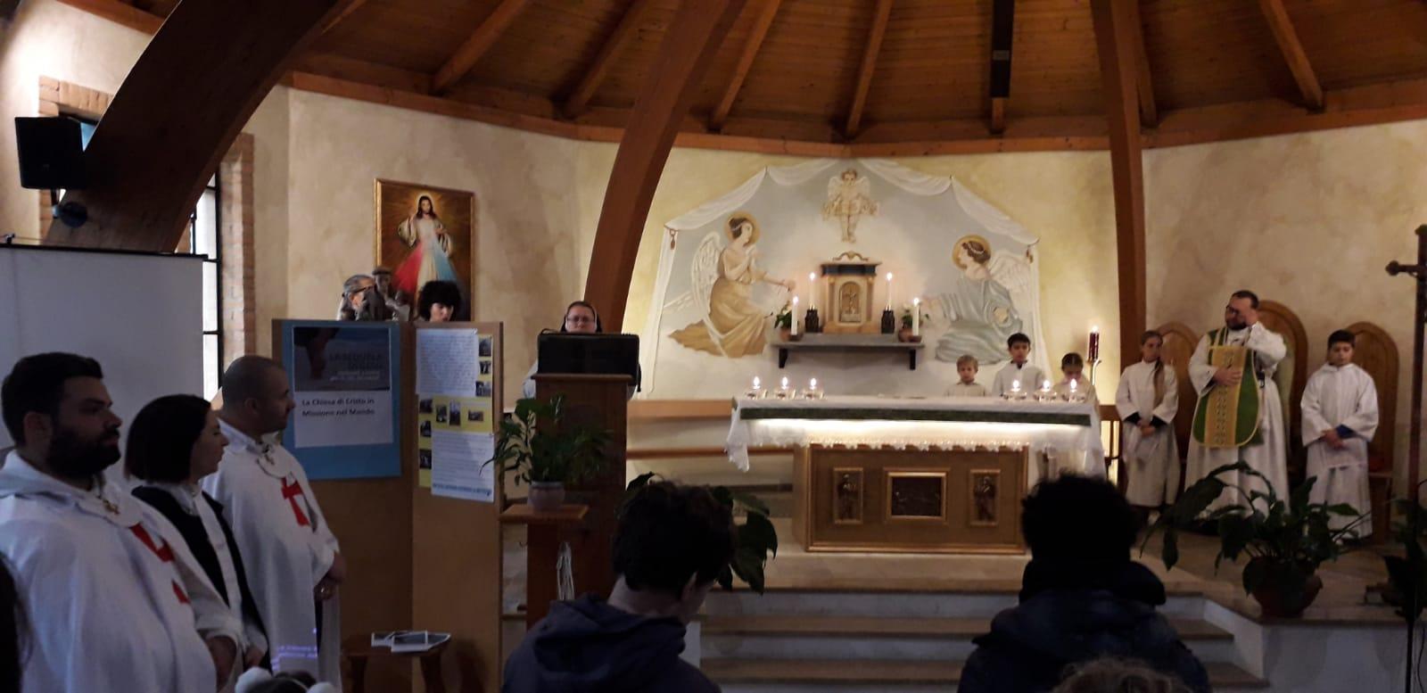 Santa Messa Domenicale nella Chiesa della Beata Vergine del Carmine di Rebocco (Sp) 2019