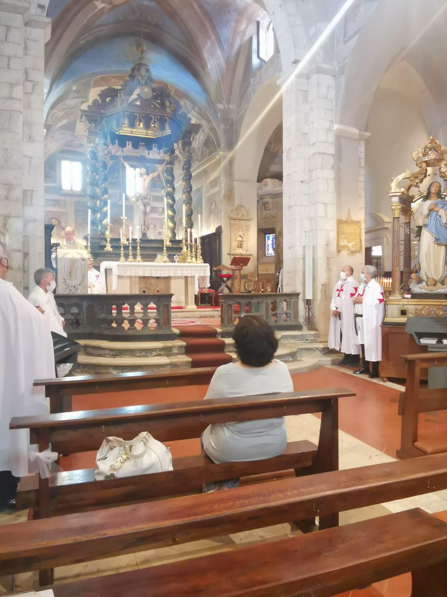 Solennità della Madonna della Vittoria.Santa Messa e Processione per le vie di Sermoneta e Recita del Santo Rosario