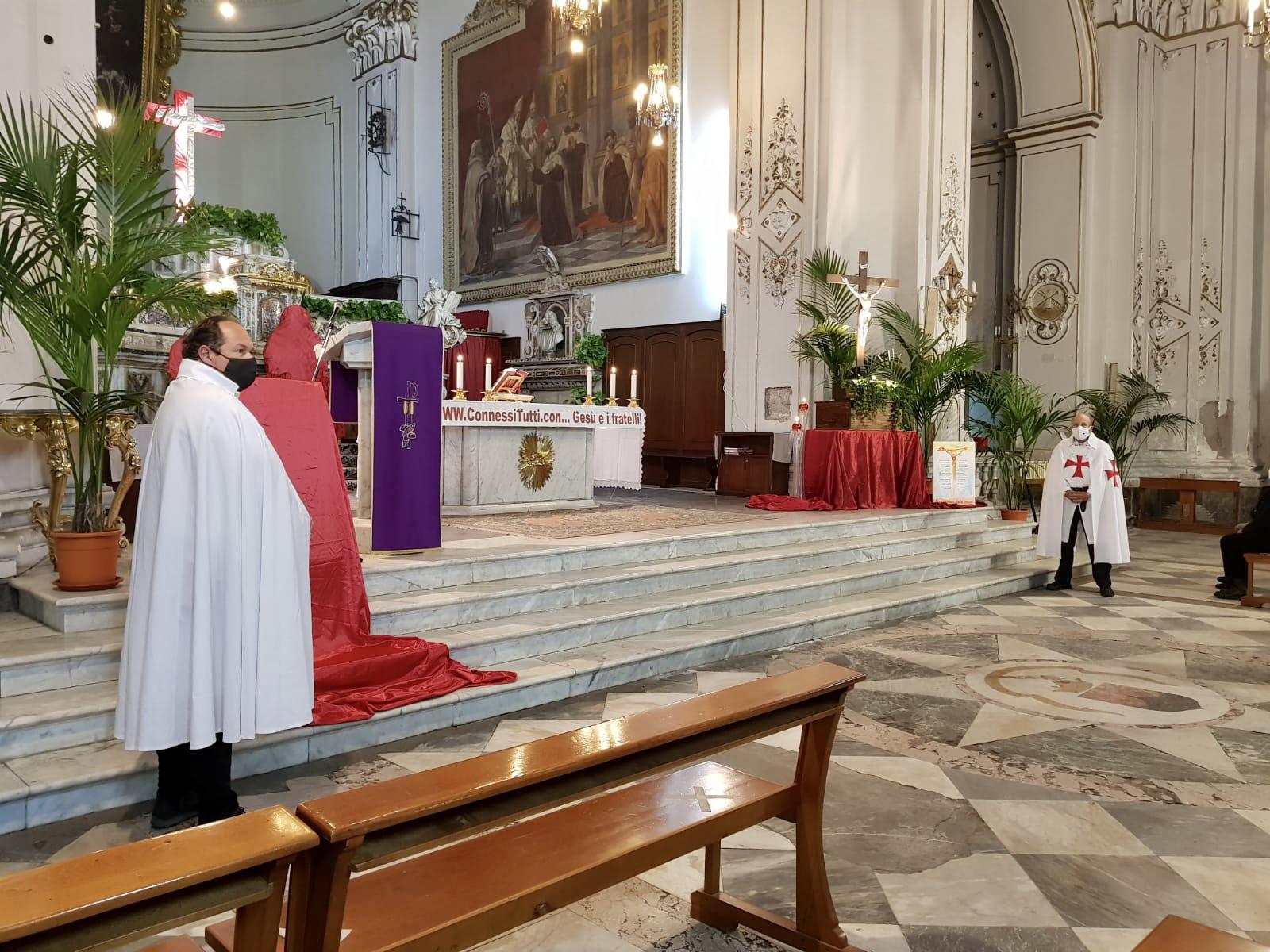 Turno di custodia del Santuario Basilica Maria SS. Annunziata al Carmine – Catania 21.02.2021