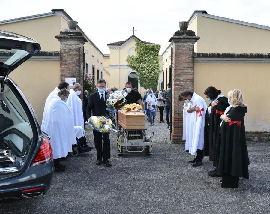 Funerale Padre Kidane Chiaravalle della Colomba (PC)