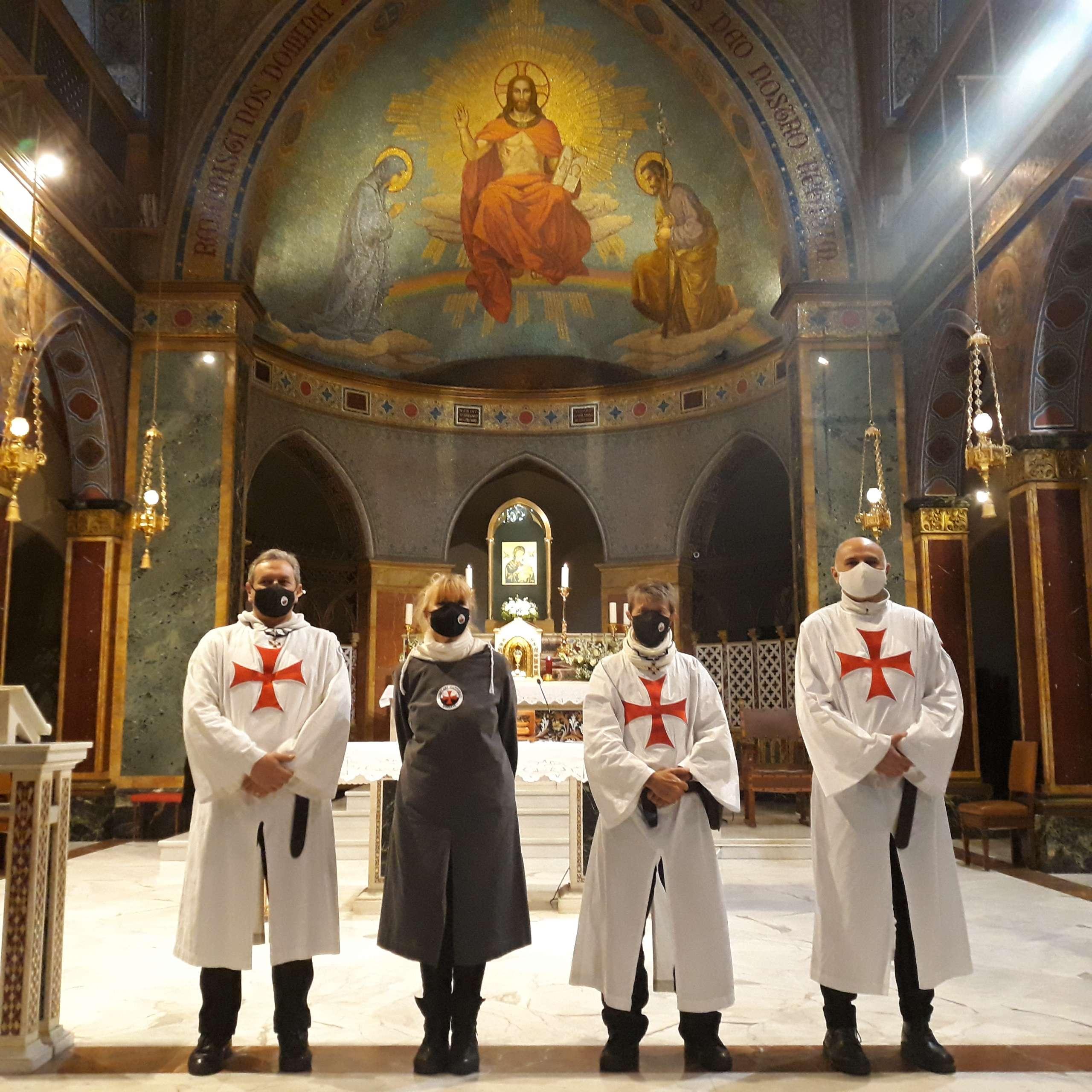 Turno di custodia Chiesa S. Alfonso all'Esquilino a Roma 23.01.2021