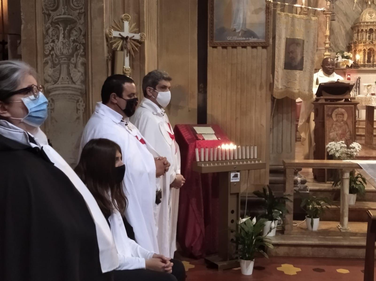 Teilnahme an der Heiligen Messe Kirche Santa Maria del Fiore – Forlì(FC) 23.04.2021
