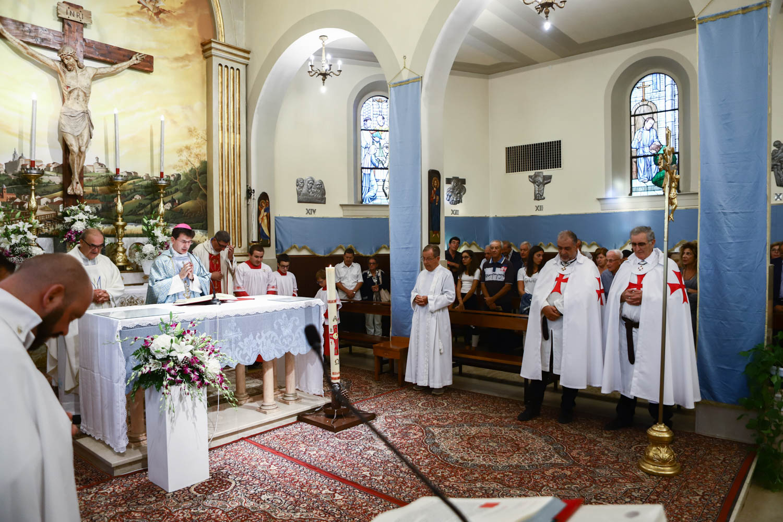 Processione e Santa Messa ad Ancona con S.E. il Vescovo di Loreto Prelato Pontificio Mons. Fabio Dal Cin