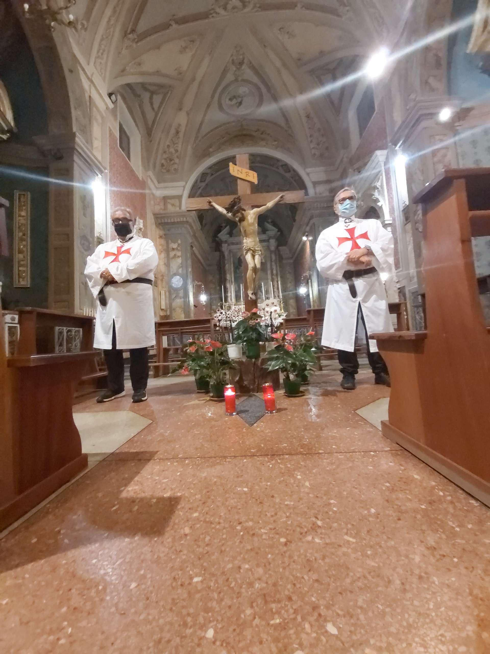 Turno di custodia notturno Chiesa Santa Lucia a Offagna (AN)
