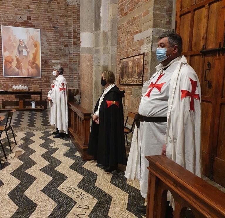 Teilnahme an der Heiligen Messe und Mahnwache für die missionarischen Märtyrer – Kirche von San Savino – Piacenza 24.03.2021