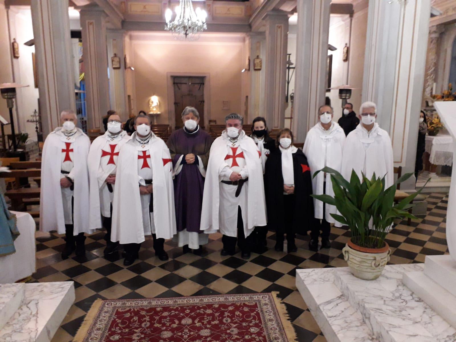 Partecipazione Santa Messa delle ceneri – Chiesa San Donato Vescovo e Martire – Bigliolo di Aulla (MS) 17.02.2021