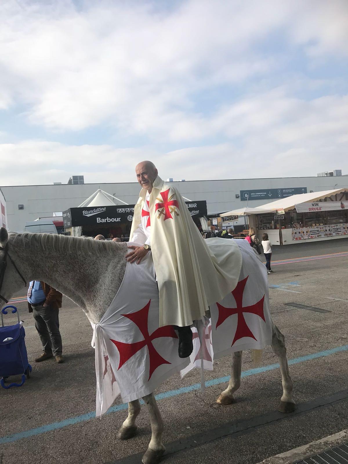 I Templari Cattolici d'Italia alla Fiera Cavalli 2018 – Verona