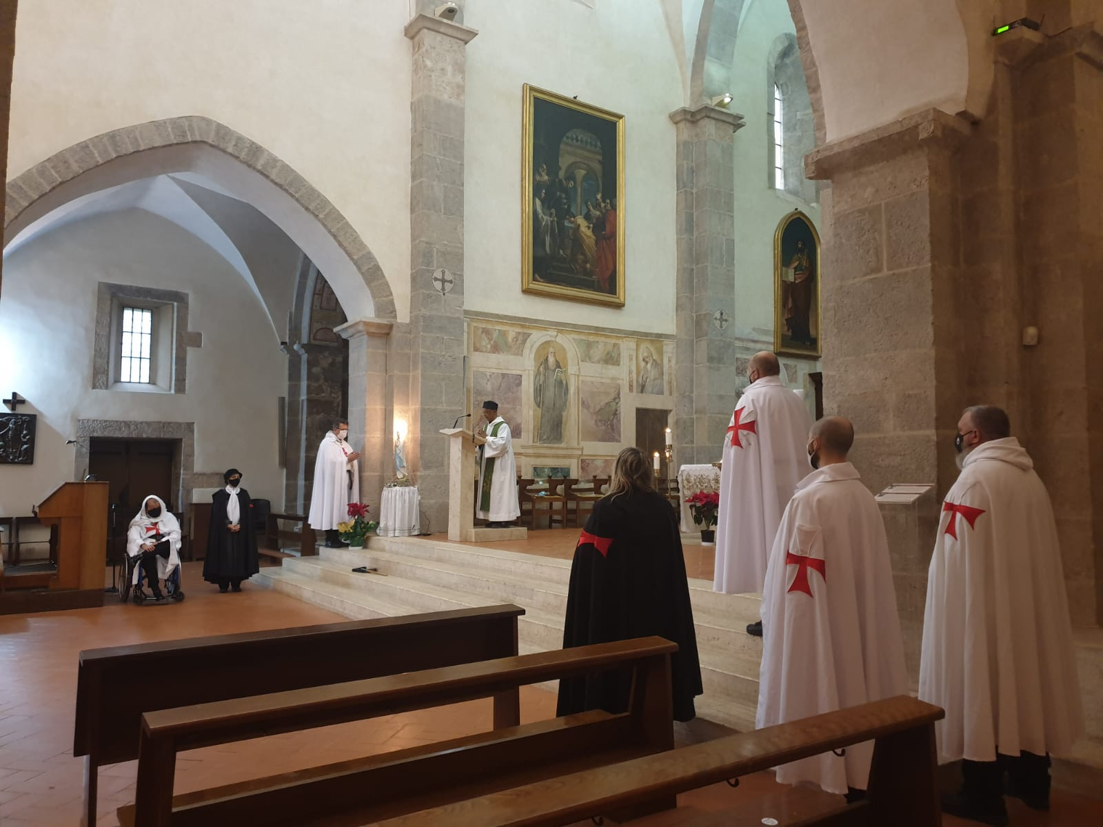 Kustodieverschiebung Abteikirche Valvisciolo und Kirche Madonna del Fossato – Sermoneta(LT) 24.01.2021
