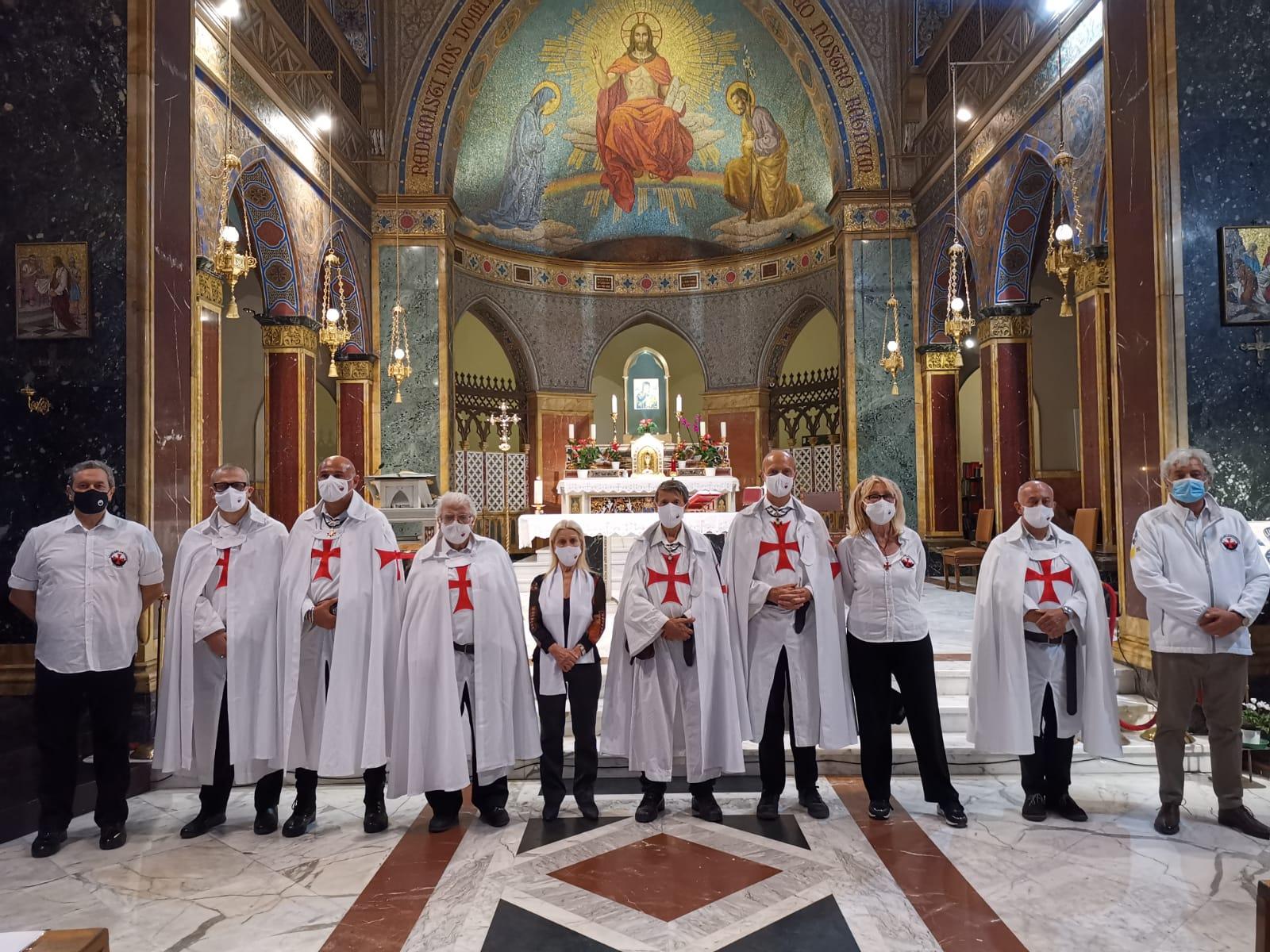 Partecipazione al Santo Rosario trasmesso in Eurovisione – Chiesa di Sant'Alfonso all'Esquilino – Roma 22.09.2021