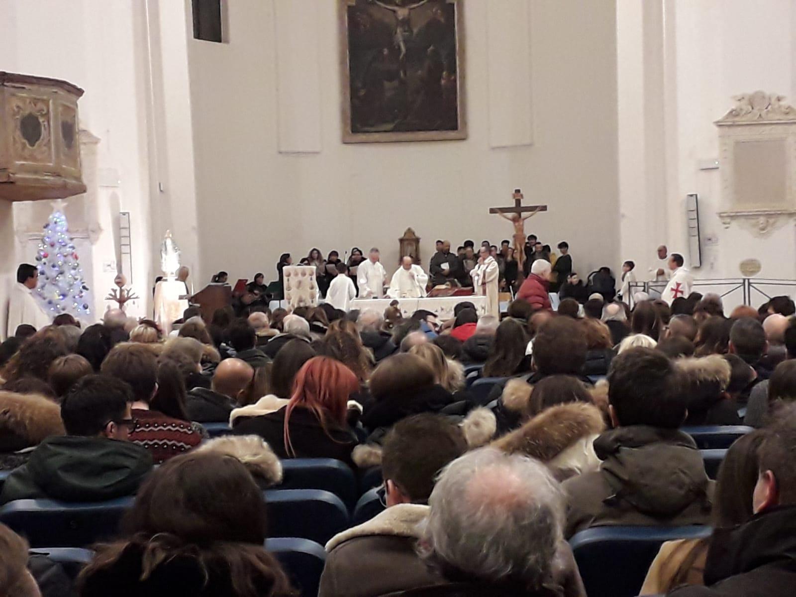 Santa Messa di Natale nella Chiesa di San Francesco a Morrovalle (MC)