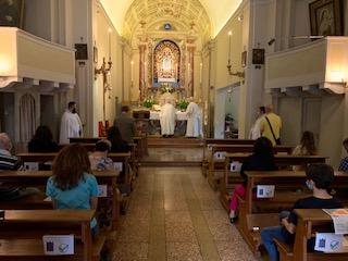 Santa Messa – Chiesa di San Domenico – Pontesanto Imola (BO)