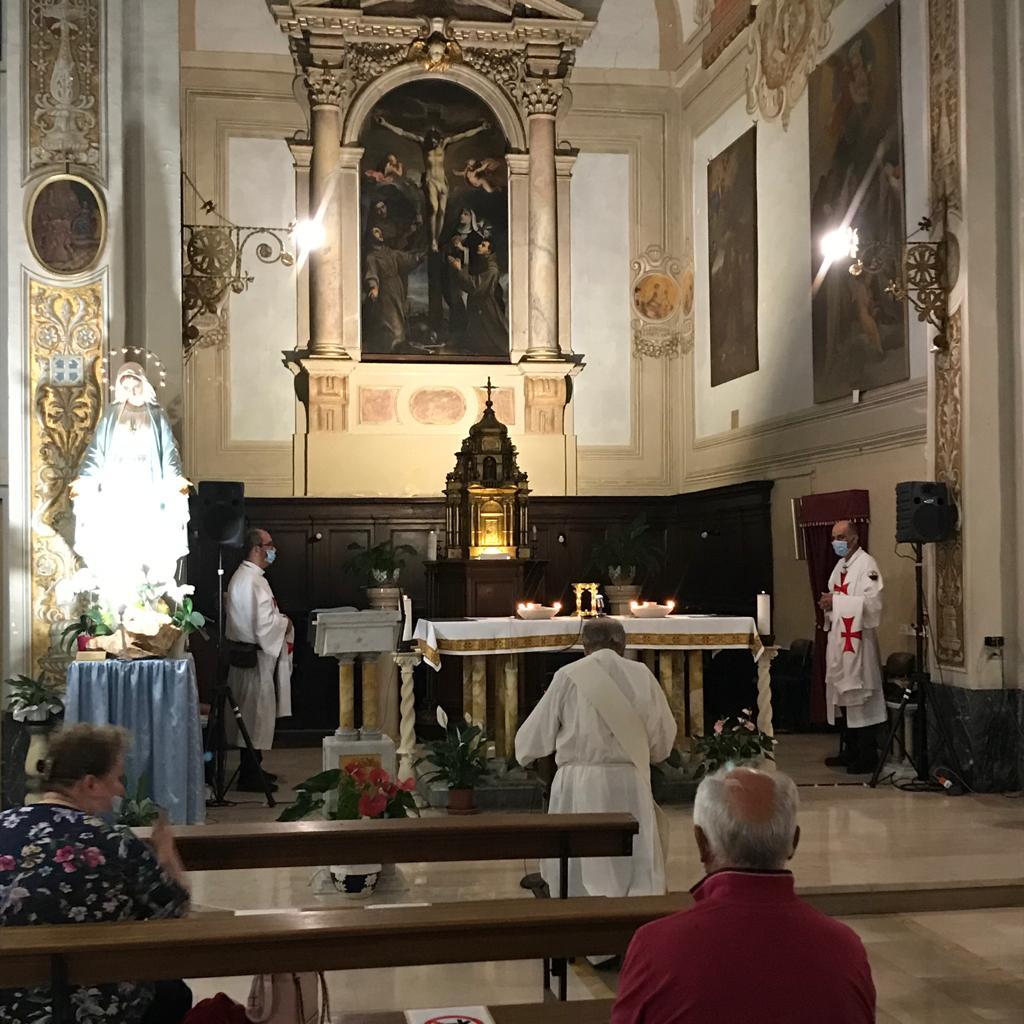Presidio all'Adorazione Eucaristica – Santuario di San Pasquale – Ostra Vetere (AN) 03.08.20
