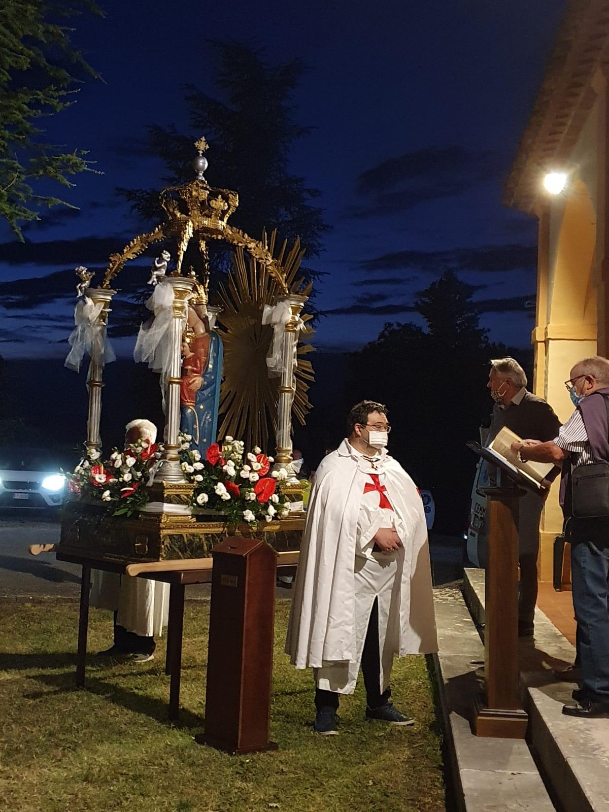 Santa Messa in onore della Madonna della neve alla Ghea (PG) 04.08.20