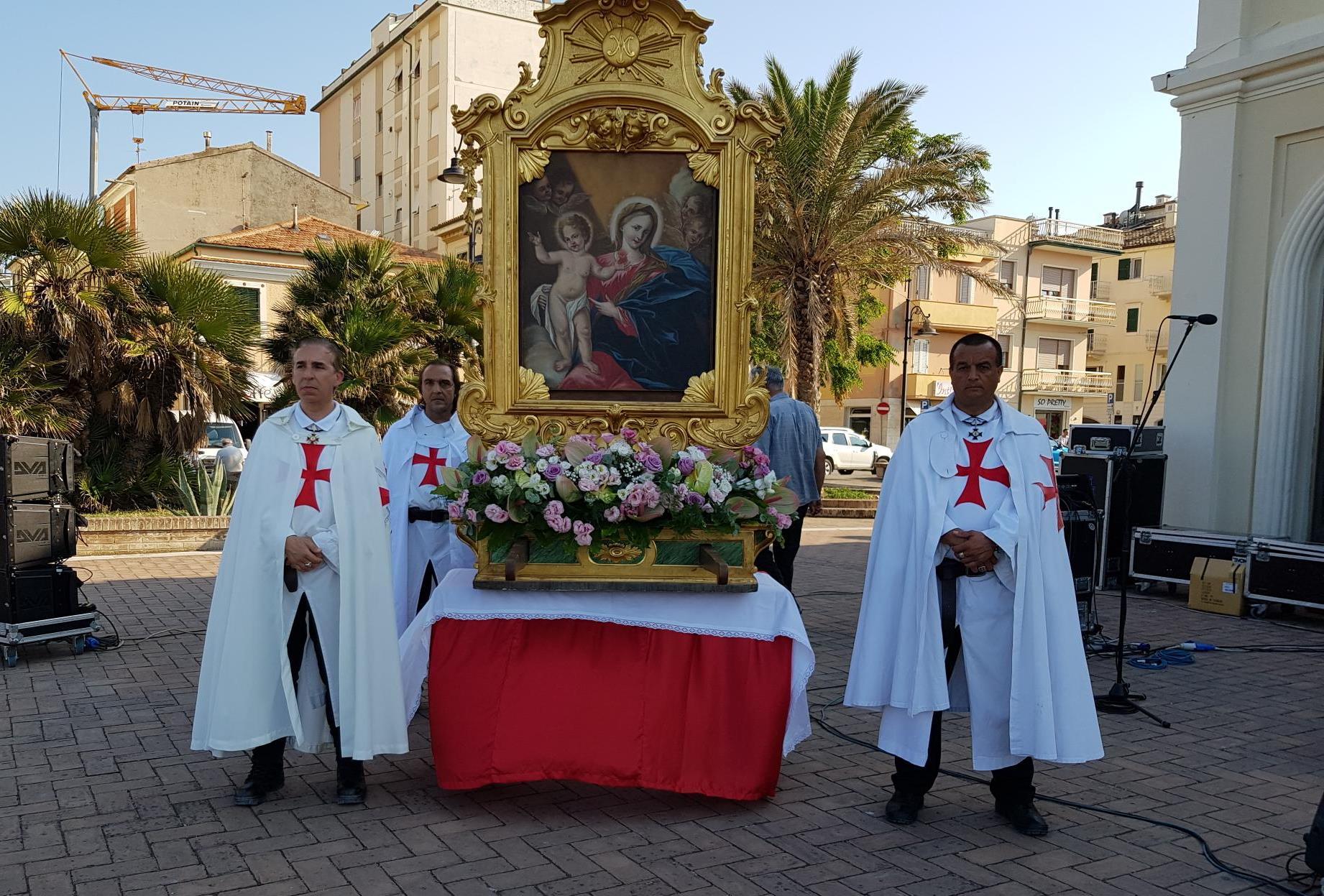Processione sul mare e Santa Messa per la Festa della Madonna del Soccorso a Porto Recanati (MC)
