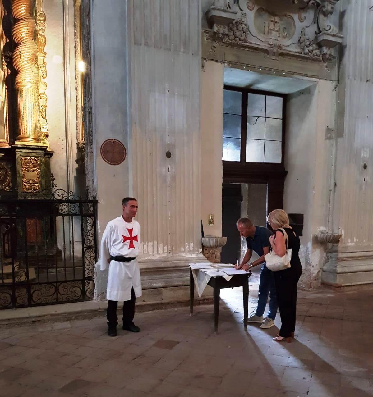 Custodia chiesa S. Marcellino Cremona settembre 2018