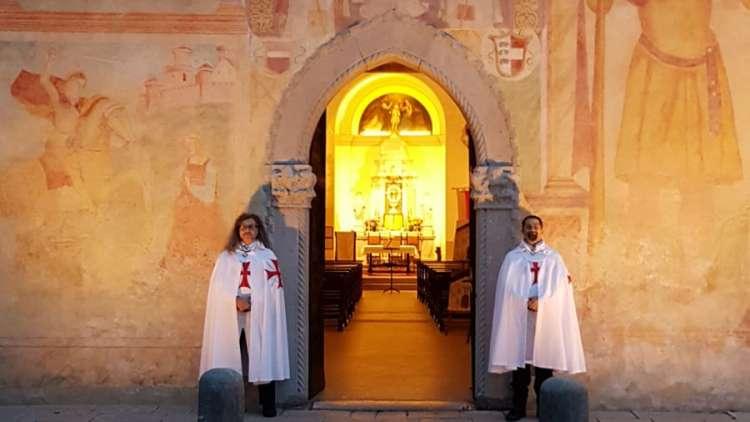 I Templari Cattolici d'Italia prestano servizio presso la chiesa dei Santi Pietro e Biagio a Cividale del Friuli
