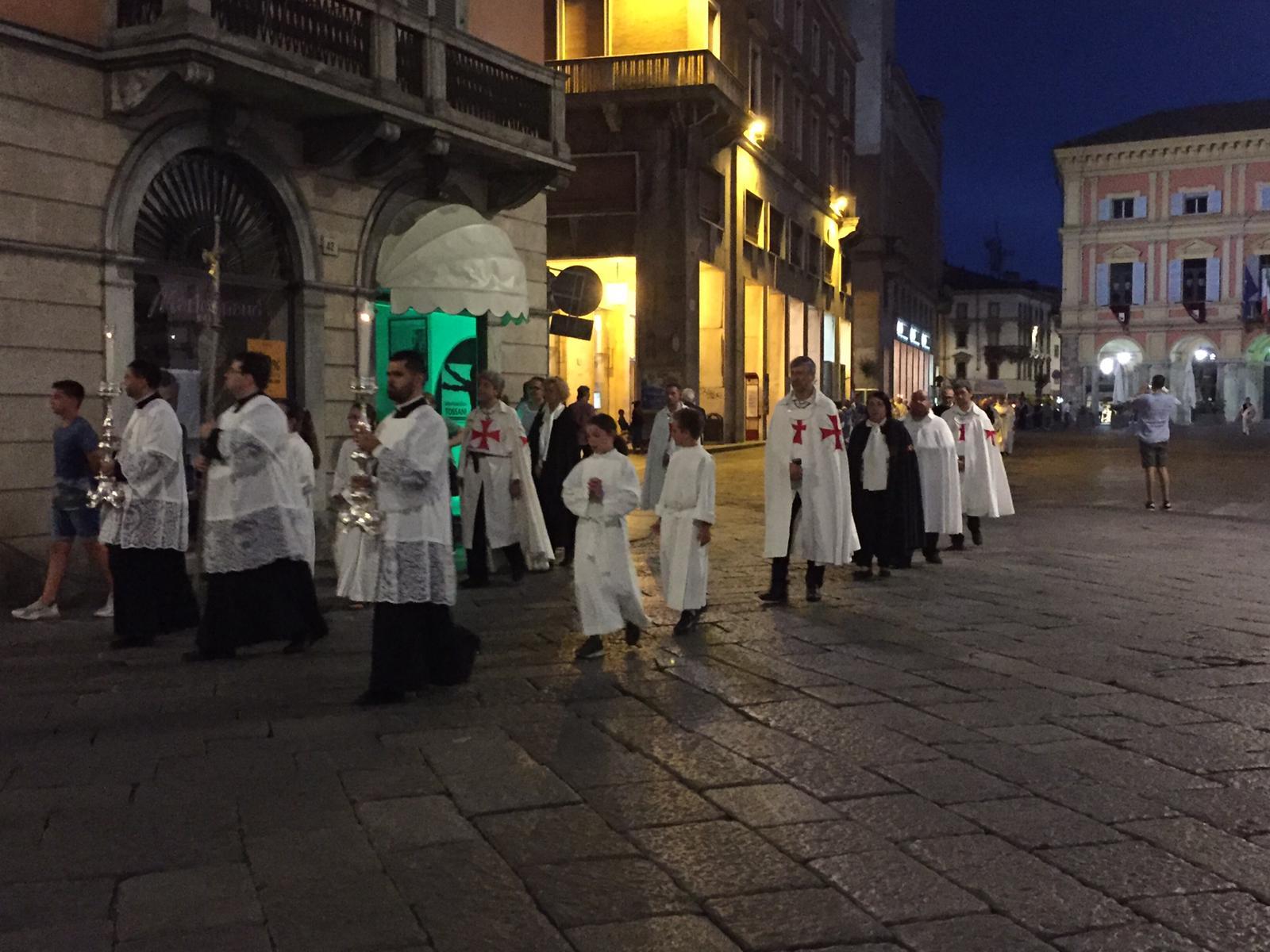 Corpus Domini 2019 Piacenza con S.E. Mons Ambrosio, Vescovo di Piacenza-Bobbio