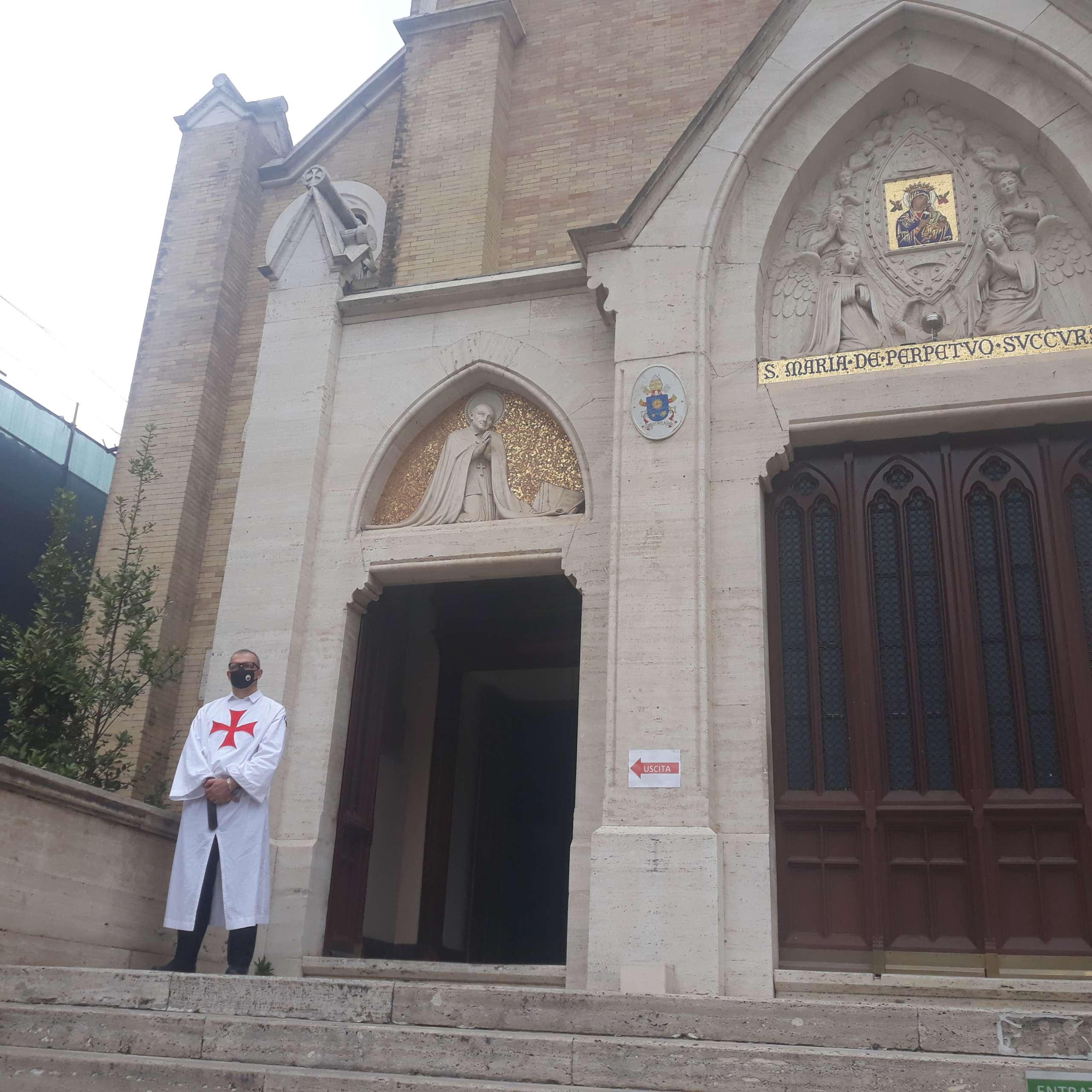 Custodia presso la Chiesa di Sant'Alfonso all' Esquilino – Roma 26.09.2021